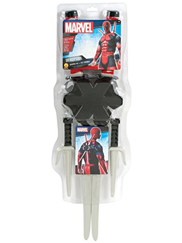 Rubie's Costume Accessory Classic Deadpool Weapon Set -