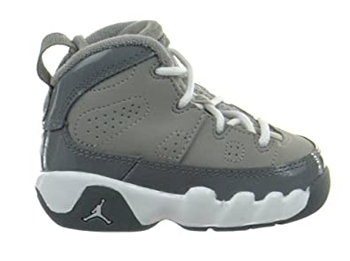 a25f1b09f20f Jordan 9 Retro (TD) Baby Toddlers Shoes Medium Grey White-Cool Grey