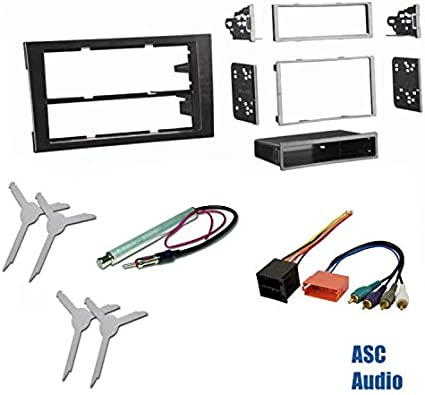 2007 audi a4 symphony wiring radio amazon com premium car stereo install dash kit  wire harness  and  amazon com premium car stereo install