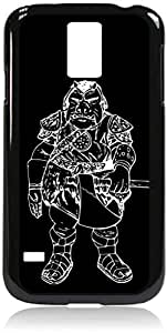 Gammorean Guard-Hard Black Plastic Snap - On Case with Soft Black Rubber LiningGalaxy s5 i9600 - Great Quality!