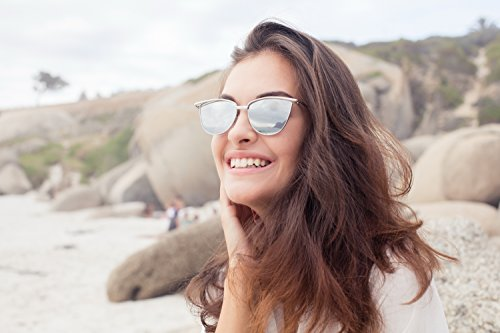 Gato Metálicas Mujer Ca 003 De Cheapass Espejadas Diseño De UV400 Chicas Gafas Mujeres Ojos Sol aqnRX4f
