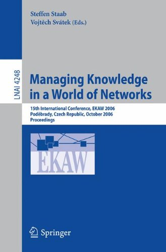 Managing Knowledge in a World of Networks: 15th International Conference, EKAW 2006, Podebrady, Czech Republic, October 6-10, 2006, Proceedings (Lecture Notes in Computer Science) PDF