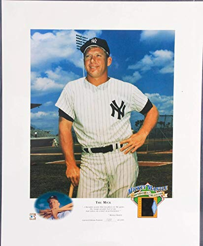 Mickey Mantle Cooperstown Collection - Mickey Mantle Photo Negative Display Cooperstown Collection