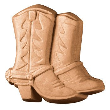 (Milky Way Boots And Spurs Soap Mold - Makes 4.5 oz Bars.)