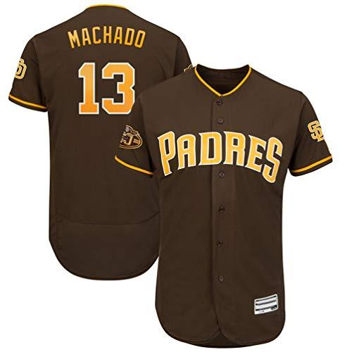 CCYKFX Mens_Manny_Machado_Padres_Jersey - M Brown