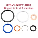 03-10 6.0L/4.5L Ford Power Stroke * G2.8 Injector Seal Kit * (Set of 8) # AP0002 by Alliant Power