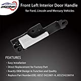 Interior Door Handle Front Left Driver Side - for