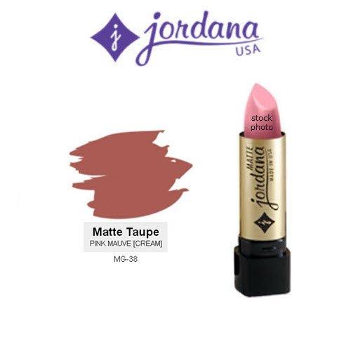 2 Pack Jordana Matte Lipstick 38 Taupe