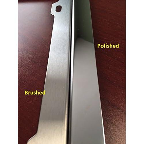 GoPlates Custom License Plate Frame Laser Engraved Stainless Steel