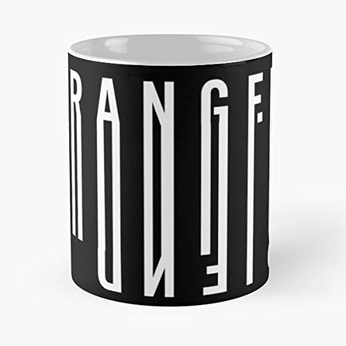 (Stranger Friend Barcode Capital - Morning Coffee Mug Ceramic Novelty, Funny Gift)