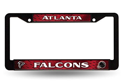 Atlanta Falcons LBL BLACK Plastic Frame License Plate Tag Cover Football