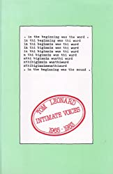 Intimate Voices: Selected Works, 1965-83