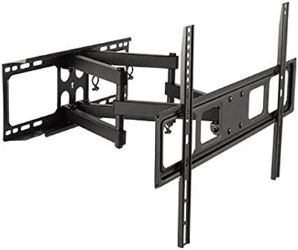 DUAL ARM SWIVEL LCD LED FULL MOTION TV WALL MOUNT 37 42 46 47 50 55 60 65 70