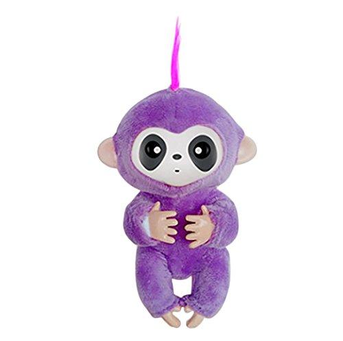 (Fiaya Lntelligence Baby Monkey Mini Plush Clothes (Purple))