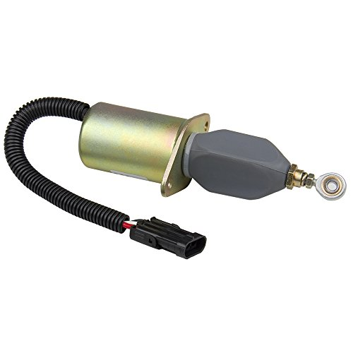 Car & Truck Parts New Diesel Fuel Shut Off Solenoid For