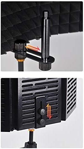 /écran de protection acoustique insonoris/é pour microphone insonoris/é microphone pliable pour lenregistrement Winbang /Écran de protection acoustique