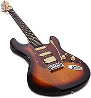 Set de Guitarra Electrica HSS LA + Amplificador Sunburst: Amazon ...