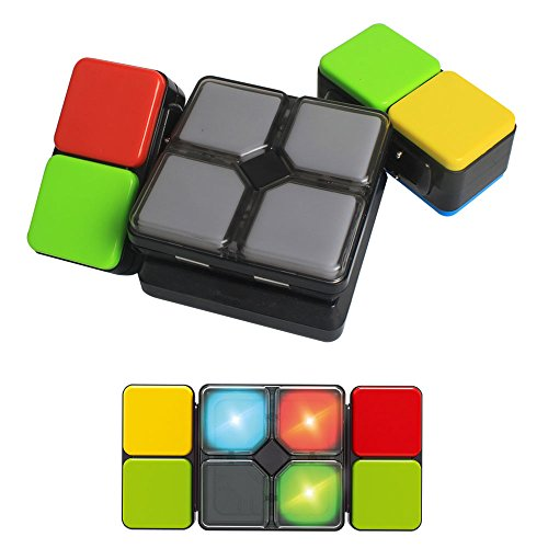 BigSmyo Music Speed Cube Magic Cube Kids Memory Game Flipside Game Slide Puzzle Decompression Toys for Adults ()