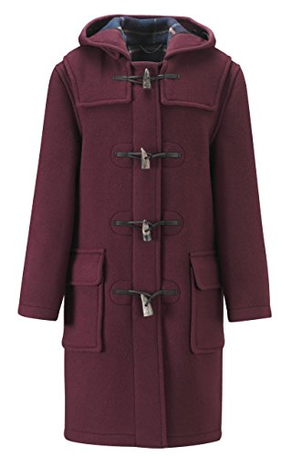Original Montgomery Womens Duffle Coat -- Burgundy Size 16