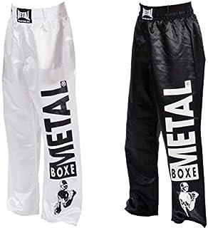 Metal Boxe - Pantalon Full Contact visual Metal Boxe (Noir, 200)
