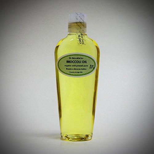 Premium Broccoli Seed Oil Cold Pressed Pure & Organic 8 oz