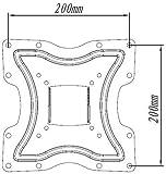 Mount World 1087A Universal Adapter Plates VESA 400 x 400 for LCD TV Wall Mount Bracket