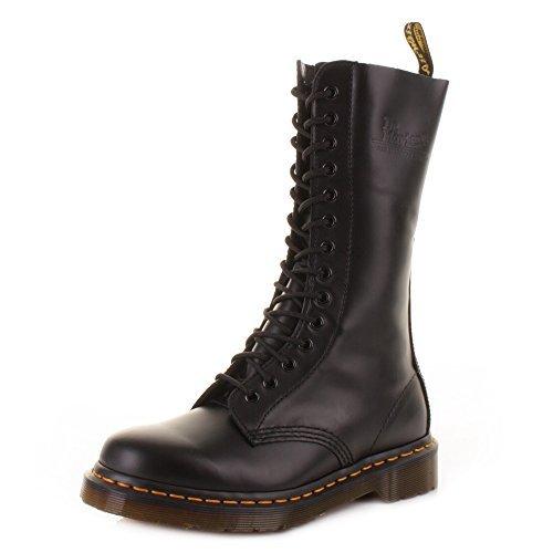 Unisex 1914 Dr Martens DM black Smooth Boots SIZE 10 AG4pd