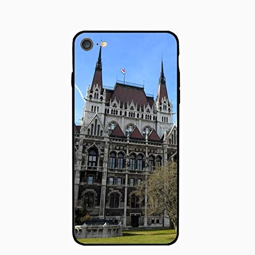 iPhone 6S Case for Girls/iPhone 6 Case, Budapest Hungary City Castle Trees Slim-Fit Shock Proof Anti-Finger Print Gel Case for iPhone 6S/iPhone 6 -