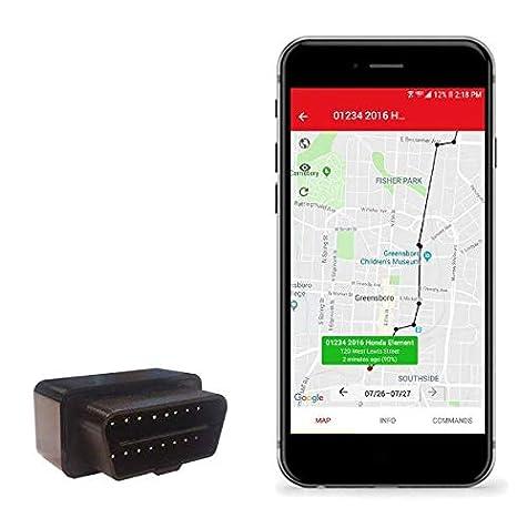 Amazon com: Auto-270 OBD GPS Vehicle Tracker | Hidden Micro