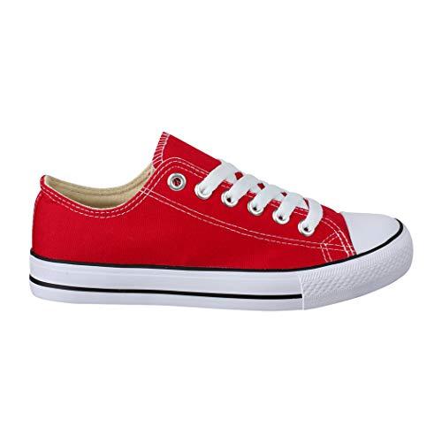 Basic Red Sneaker Elara Elara Sneaker Donna Elara Red Sneaker Basic Donna PCwqx6B1F