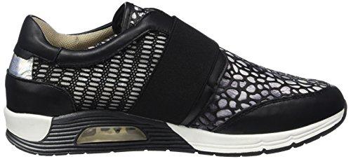 BULLBOXER 159001f5s Damen Sneakers Schwarz (BLCK)