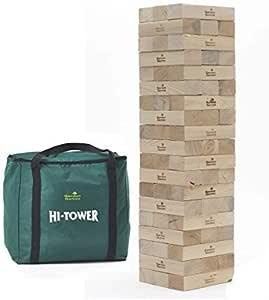 Bloques de Construcción de Torre Gigante con Bolsa de Almacenaje - Juegos para Actividades de Jardín Exterior: Amazon.es: Juguetes y juegos