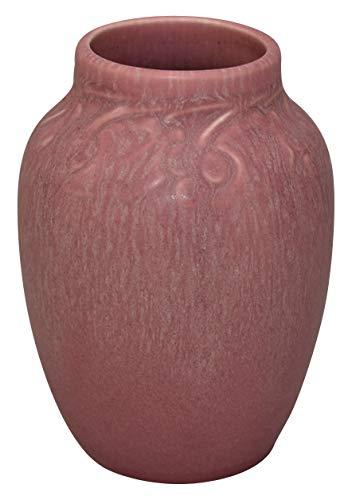 - Rookwood Pottery 1932 Mottled Rose Vase 2139