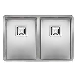 30 x 40 Reginox Elite Texas + 30 x 40 novaservice fregadero - 650 x 420 mm dimensiones WC/fregadero de acero inoxidable/base