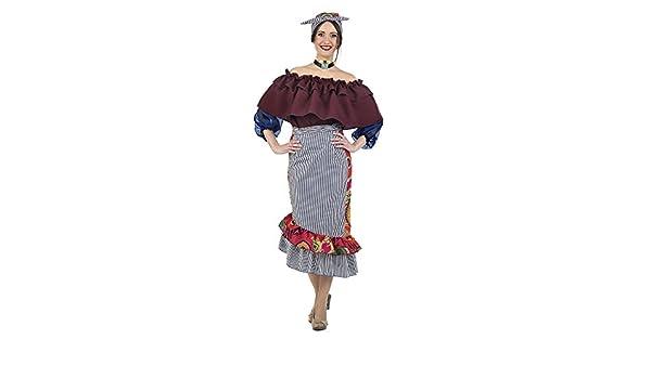 Limit Sport- Disfraz Cubana Aylín, M (MA470): Amazon.es: Juguetes ...