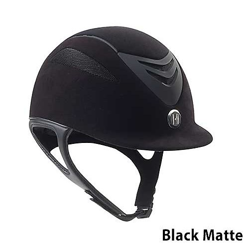 One K Defender Suede Helmet L Long Oval Black Matt
