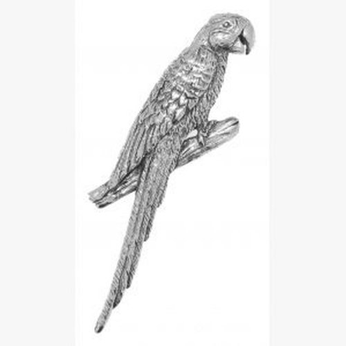 incisa Parrot scatola Idea Pewter regalo Brooch qqxSZXz
