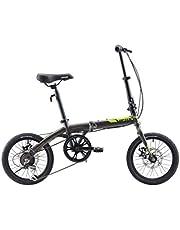 دراجة ترانسفورمر قابلة للطي من ابتين، دراجة قابلة للطي مقاس 14 16 20 انش، دراجة صغيرة الحجم قابلة للطي للكبار والشباب