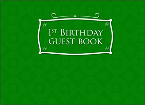 1st birthday guest book birthday guest books guest books guest