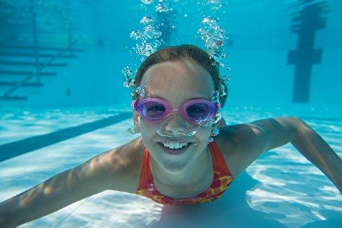 Zoggs Phantom Lunettes de natation Fille Violet/rose