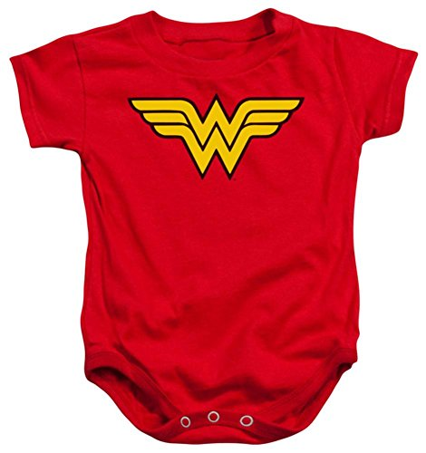 Infant: Wonder Women - Logo Infant Onesie Size 6 Mos -