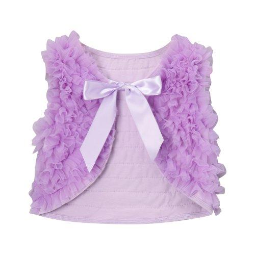 Lavender Girls Chiffon Shrug Vest, Size ()