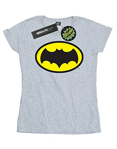 gris Series Logo camiseta Dc Comics Women Batman deportiva Tv n7wxYgpHq