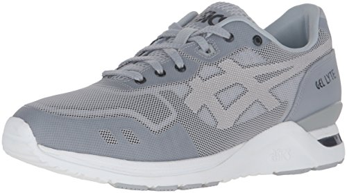 ASICS Men's Gel-Lyte Evo NT Fashion Sneaker, Light Grey/White, 11 M US Asics Mens Ultimate Tiger