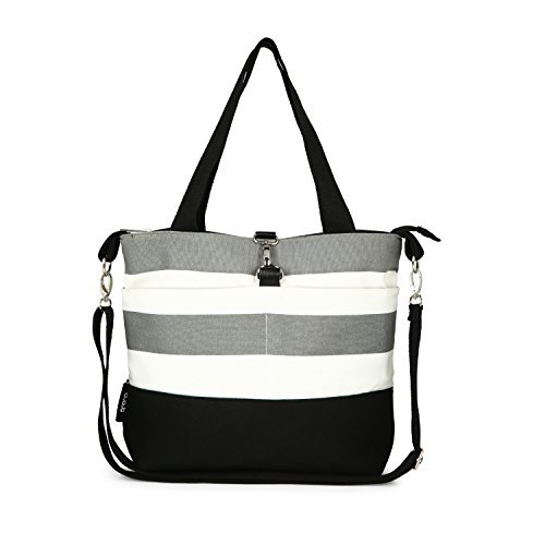 Oioi Baby Bags (Compact Mommy Tote Bag - Best Designer Ladies Handbag for Toddlers (Also Fits Baby Diapers))