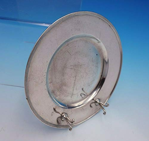 Old French by Gorham Sterling Silver Butter Plate with Knife Rest #A8189 (#3278)
