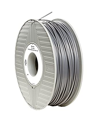 Amazon Com Filament Verbatim Pla Silver 2 85 Mm 1 Kg