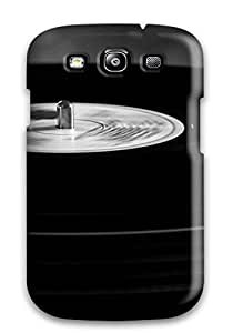Tpu Case Cover Compatible For Galaxy S3/ Hot Case/ Music Vinyl