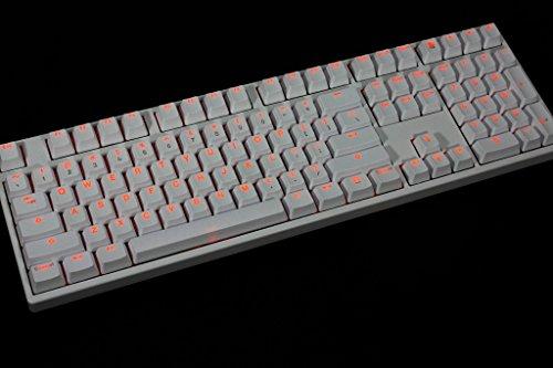 Vortexgear Translucent Doubleshot Backlit PBT + POM Keycaps - 104