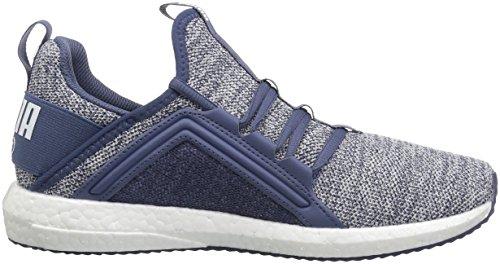 Puma Womens Mega Nrgy Knit Wn Sneaker Blauw Indigo-puma Wit